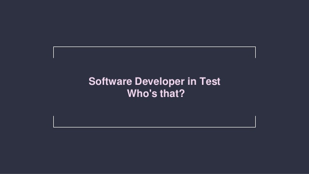 What is the Software Developer's Role in Automated Software Testing?